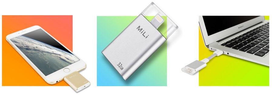 Mili-flash-drive