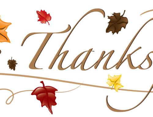 I Appreciate You!